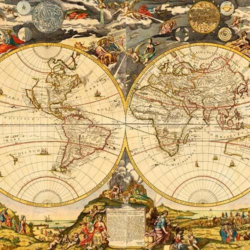 La historia de la cartografía como historia de la Humanidad